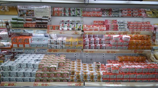 ジャパンミート生鮮館 千葉ニュータウン店商品棚