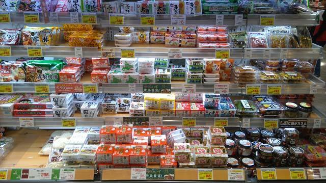 京急ストア グロッサリーマーケット みなとみらい店商品棚