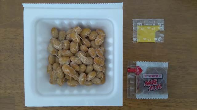 国産中粒納豆(東日本・西日本)3パック開封後