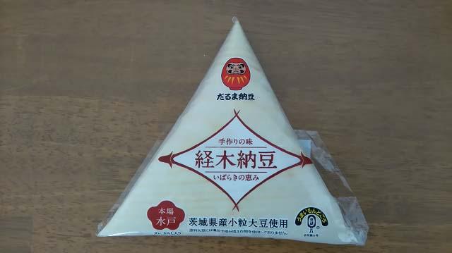 経木納豆(だるま納豆)パッケージ