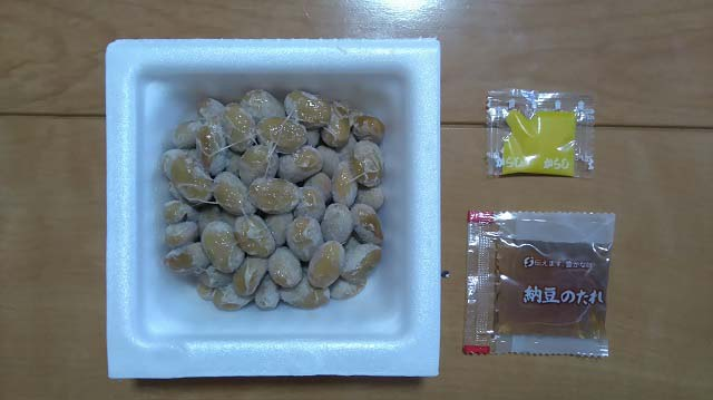 国産大粒ふっくら納豆3p開封後