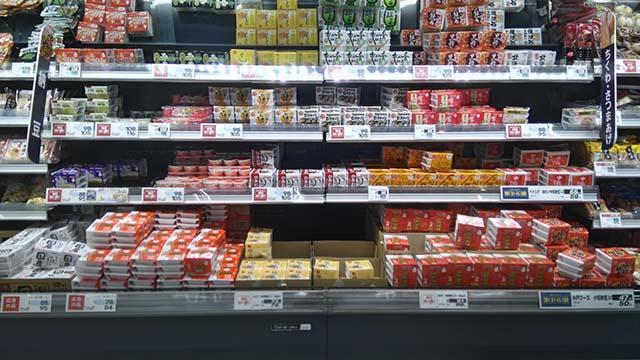 ベイシア(Beisia)フードセンター八日市場店商品棚