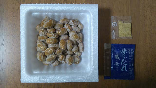 有機納豆 日本の農2P開封後