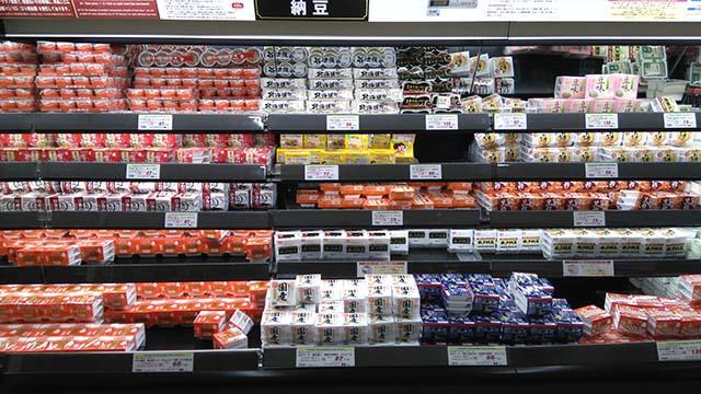 オーケー 東戸塚店商品棚