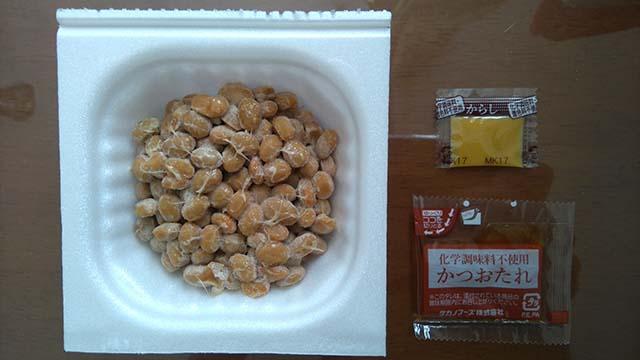 北海道空知産大豆使用小粒納豆開封後