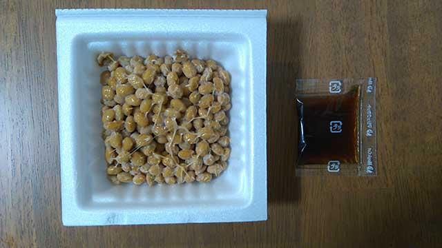 くま納豆 道産超極小粒納豆開封後