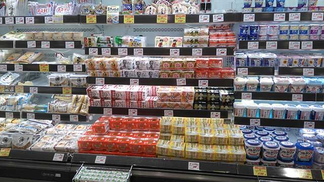 YASUNO Foodesノースポート店商品棚